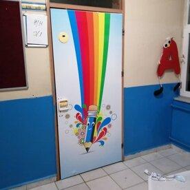 Okul ve Kapı Giydirme uyglaması 37